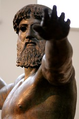 Poseidon (daniel virella) Tags: picmonkey god greece ellas hand bronze statue museum perfection arm face head hair man