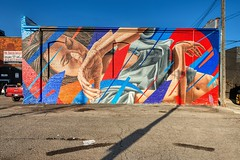 Bullough - Detroit (Brook-Ward) Tags: hdr brook ward detroit mi michigan eastern market mural graffiti street art james bullough jamesbullough travel vacation holiday