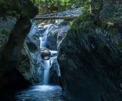 Falls (LEXPIX_) Tags: waterfall forest water woods texasfalls newengland vt green mountain state new england slow shutter speed sony rx