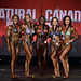 Womens Physique A 4th Martin-Boudreau 2nd Pottruff 1st Everett-Annett 3rd Caron 5th Resal