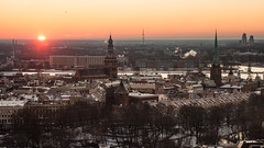 Riga Sunset, Latvia