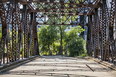 Old Eastern Avenue Bridge (jer1961) Tags: toronto bridge oldbridge easternavenuebridge abandonedbridge howetrussbridge