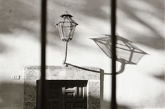 Mexican shadows 1994 (Meredith Jacobson Marciano) Tags: mexico shadow light analog bw 35mm tmax kodak sanmiguel 1990s