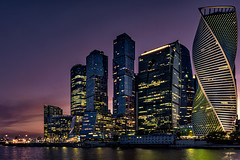 Moscow City (Davidografie) Tags: moskau moscow city skyscraper finacial district cityscape