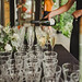Filling Champagne Glasses