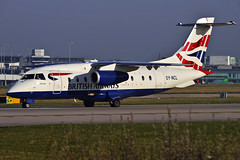 Sun Air Scandanavia Dornier Jet operating for British Airways (Infinity & Beyond Photography: Kev Cook) Tags: sun air scandanavia dornier jet 328 do328 oyncl operating for british airways aircraft airplane airliner manchester ringway airport man planespotting planes photos
