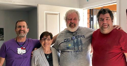 Pat, Mom, me, & Brian