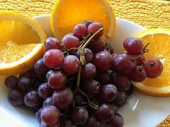 Foodie Art2019 (Mr. Happy Face - Peace :)) Tags: macromondays theme fruit orange grapes art2019