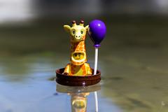 Giraffe in the water (Ballou34) Tags: 2019 7dmark2 7dmarkii 7d2 7dii afol ballou34 canon canon7dmarkii canon7dii eos eos7dmarkii eos7d2 eos7dii flickr lego legographer legography minifigures photography stuckinplastic toy toyphotography toys stuck in plastic girafe water baloon giraffe