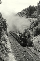 Smoking (Jacobite52) Tags: 48151 8f lms railway settleandcarlislerailway settlecarlisle train steam settle wcrc