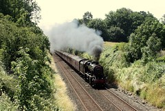 The long drag (Jacobite52) Tags: 48151 8f lms wcrc settleandcarlislerailway settlecarlisle settle railway train steam