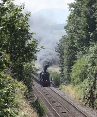 48151 (Jacobite52) Tags: 48151 8f lms railway settleandcarlislerailway settlecarlisle train steam settle wcrc