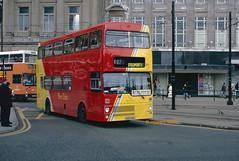 Bee LIne 787 (BOK 78V) (SelmerOrSelnec) Tags: beeline mcw metrobus bok78v manchester mosleystreet loan lease westmidlandspte westmidlandstravel bus