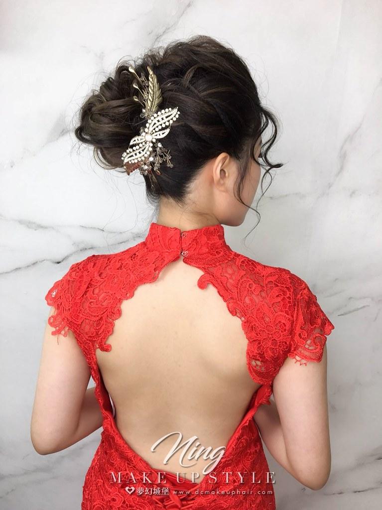 【新秘羽寧】新娘造型創作 / 復古中式造型