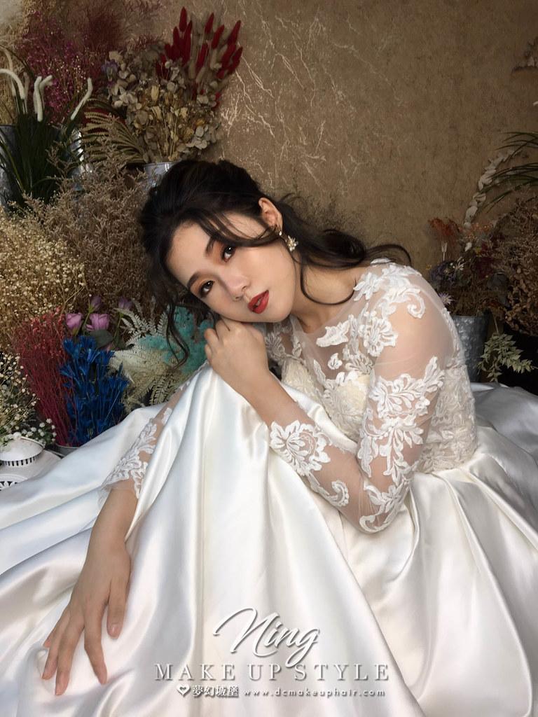 【新秘羽寧】新娘造型創作 / 唯美空靈造型