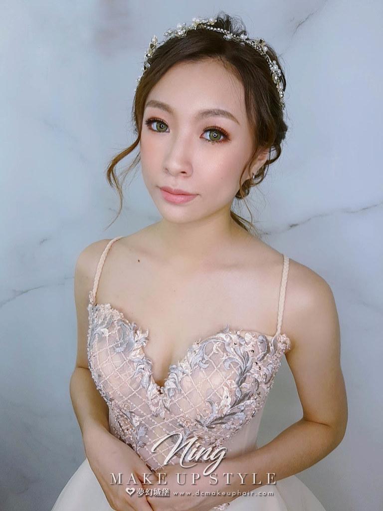 【新秘羽寧】新娘造型創作 / 編髮低馬尾