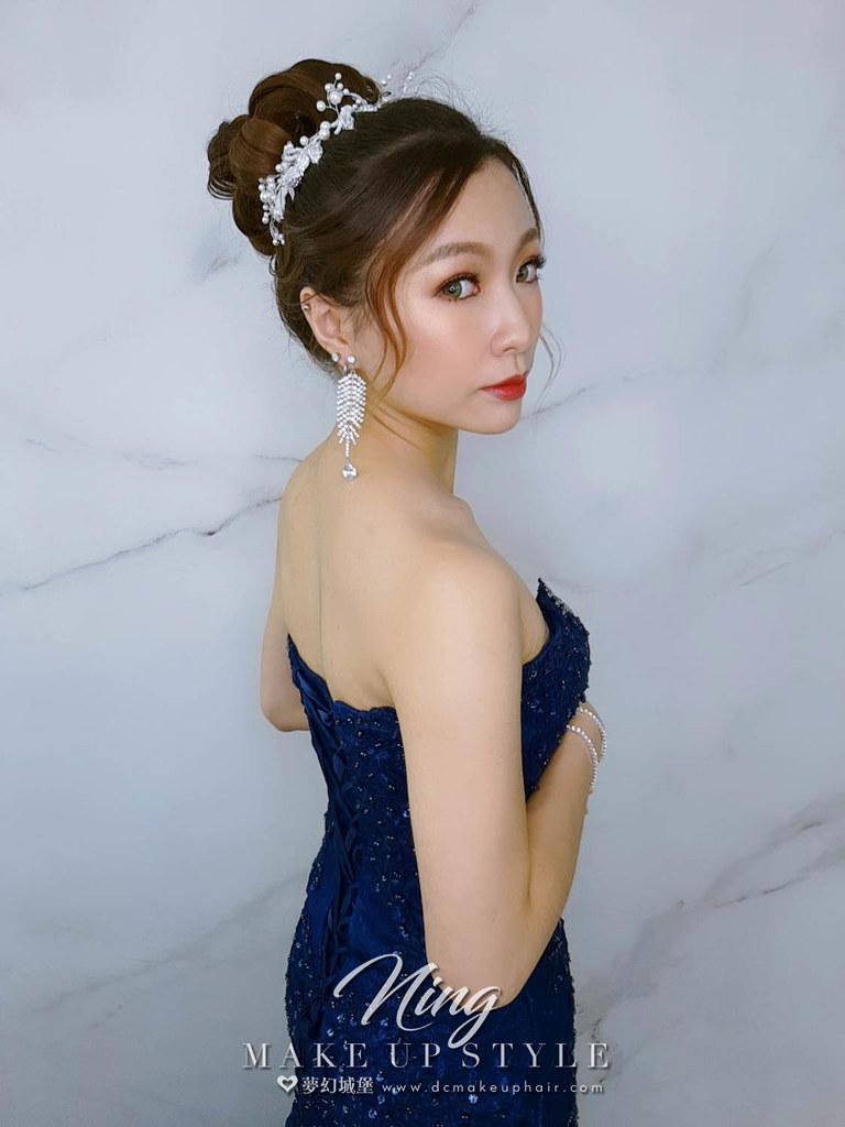【新秘羽寧】新娘造型創作 / 高雅高盤髮