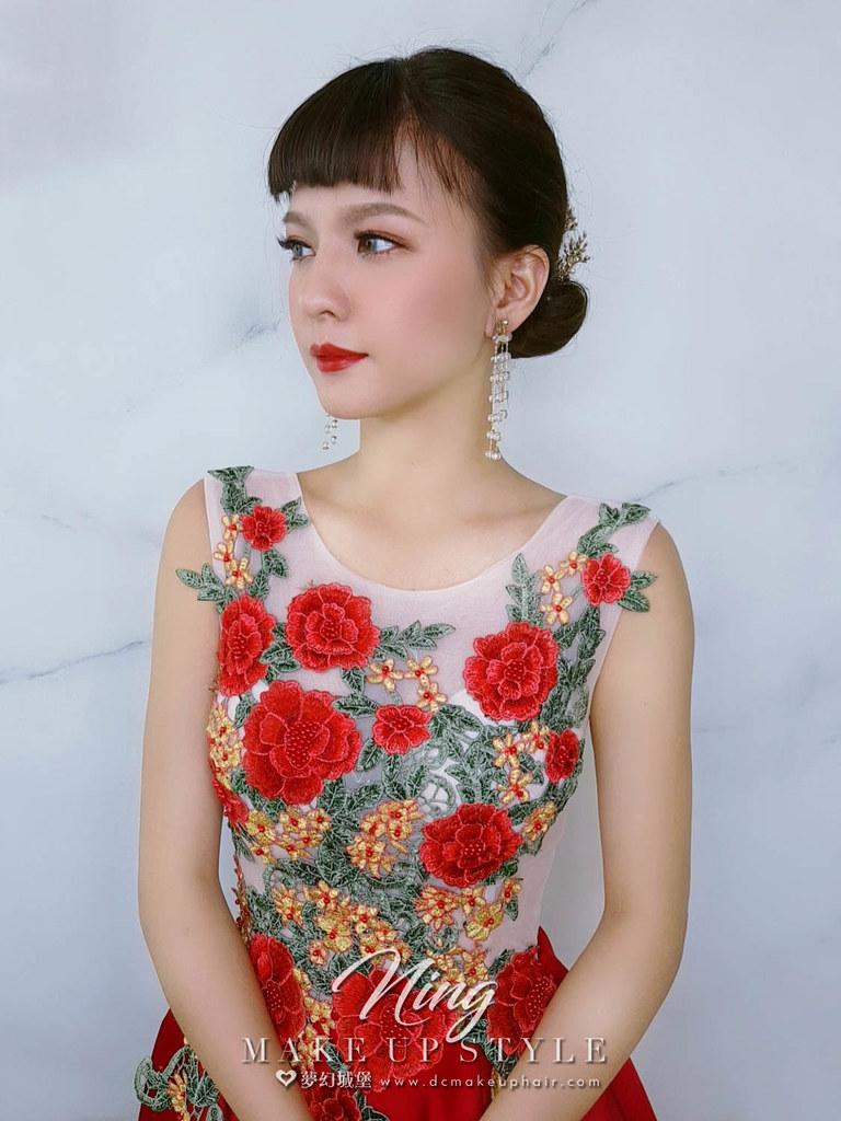 【新秘羽寧】新娘造型創作 / 優雅小女人造型