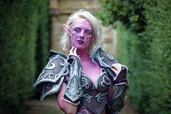 Portrait from Fantasy Forest at Sudeley Castle, July 2019 (Gordon.A) Tags: world uk england people woman castle face festival lady night forest pose outside outdoors design costume model pretty cosplay outdoor creative culture july posed posing lifestyle style gloucestershire winchcombe warcraft elf event fantasy cosplayer subculture 2019 sudeley trees portrait color colour tree colors digital canon photography eos colours sigma naturallight portraiture amateur 750d sigma50100mmf18dc
