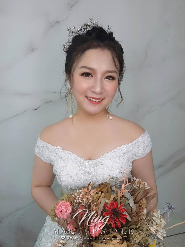 【新秘羽寧】新娘造型創作 / 公主盤髮造型