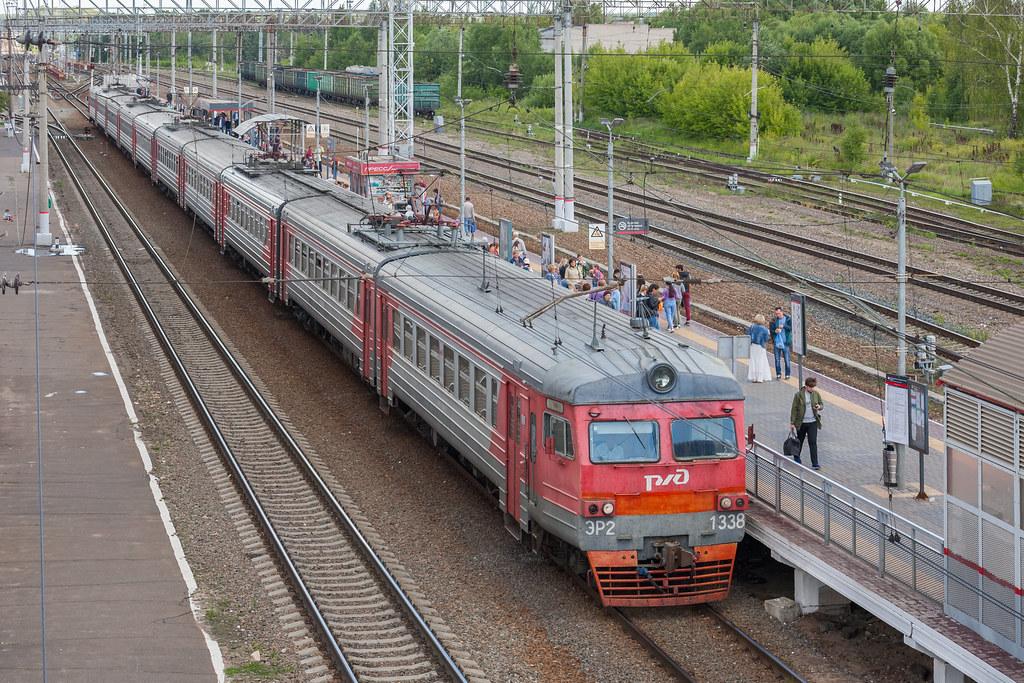 фото: ЭР2-1338, станция Серпухов