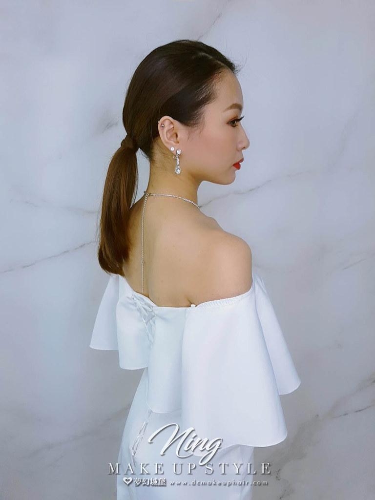 【新秘羽寧】新娘造型創作 / 紅毯油頭造型