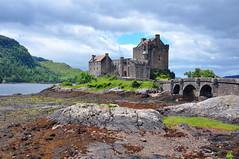 Low Tide at Eilean Donan (Atilla2008) Tags: eileandonan castle scottishhighlands d90 nikon scotland wow lowtide history lochalsh highlands