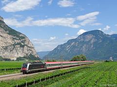 Record Eurocity (nlovato96) Tags: öbb taurus 1216 e190 025 world record ec eurocity 85 münchen rimini brennerbahn salorno salurn