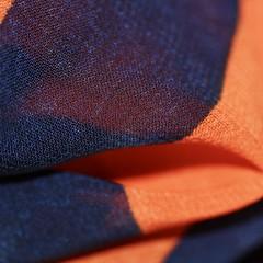 Complimentary Chiffon (janano2010) Tags: macromondayscomplementarycolours macro chiffon fabric sheer