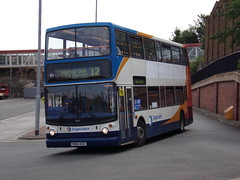 Stagecoach TransBus Trident (TransBus ALX400) 18121 YN04 KGE (Alex S. Transport Photography) Tags: bus outdoor road vehicle stagecoach stagecoacheastmidlands alx400 alexanderalx400 dennistrident trident transbustrident transbusalx400 route12 18121 yn04kge