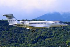 Gulfstream Aerospace Service Corp GVII-G500 N507GD (Manuel Negrerie) Tags: gulfstream aerospace service corp gviig550 n507gd design bizjet livery corporatejet aircraft aviation g550 vip luxury tsa songshanairport canon avgeeks