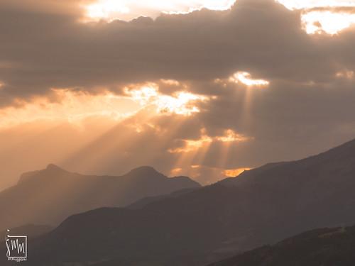 coucher de soleil à la Conche