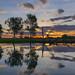 Sunset over South Alligator River, Kakadu National Park, NT, Australia