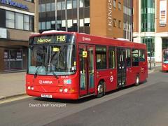 Arriva London, DWL85 [YE06HRJ] - Harrow (31/08/18) (David's NWTransport) Tags: arrivalondon arriva ye06hrj wrightcadet wrightbus vdlsb120 vdlbus vdl