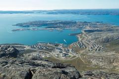 Nuuk, Greenland, Denmark, North America (Miraisabellaphotography) Tags: nuuk greenland nature travel adventure northamerica denmark mountain mountains hills bigmalene ontopofbigmalene cityview city