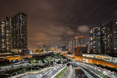 Valley of Man (TVZ Photography) Tags: hdr highdynamicrange westkowloon jordan tsimshatsui kowloon hongkong architecture towers city cityscape skyline night evening longexposure lowlight sonya7riii sony 1635mm sel1635gm
