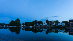 Marlow Blue Hour (THE NUTTY PHOTOGRAPHER) Tags: bluehour marlow reflections wetreflection
