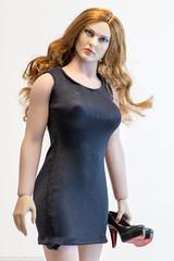 ACPlay Little Black Dress (edwicks_toybox) Tags: 16scale acplay fighterwoman tbleague bikini femaleactionfigure littleblackdress phicen seamlessbody