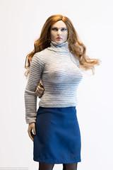 Sweater/Skirt Combo (edwicks_toybox) Tags: 16scale fighterwoman tbleague bikini femaleactionfigure highheels phicen seamlessbody skirt sweater