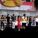 Kevin Feige, Chloe Zhao, Richard Madden, Kumail Nanjiani, Lauren Ridloff, Brian Tyree Henry, Salma Hayek, Lia McHugh, Don Lee & Angelina Jolie