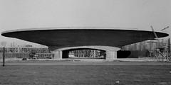 hangar_Grimbergen_Alfred_Hardy_1947 (marklarmuseau) Tags: aircrafthangars listedbuilding grimbergenairfield belgium alfredhardy brabantflamand vlaamsbrabant flemishbrabant flanders