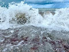 Stormy Weather - Sanibel Island (Kimberly Marie Photography) Tags: sanibelisland florida waves beach storm gulfofmexico seaweed