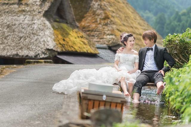 《京都婚紗》chris&coco:日本海外婚紗1