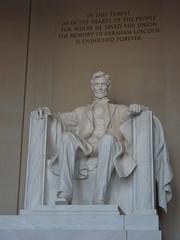 Abraham Lincoln (Vicki.94) Tags: abraham lincoln usa ostküste nachts im museum