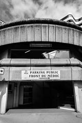 DSCF2762 (LexomIA) Tags: architecture bordeaux street urbain bw nb streetphotography