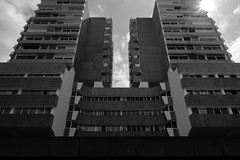 DSCF2769 (LexomIA) Tags: architecture bordeaux street urbain bw nb streetphotography