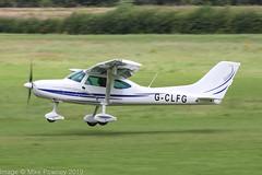 G-CLFG - 2019 build TL Ultralight TL-3000 Sirius, departing from Runway 26R at Barton (egcc) Tags: barton cityairport egcb gclfg homebuilt laa38615610 lightroom manchester scott sirius tlultralight tl3000