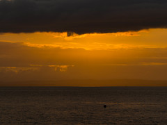 The Sky is a Live (RS400) Tags: cool wow amazing travel orange yellow clouds sky water sea landscape clevedon southwest south west photography outside olympus uk 2019 june hot summer