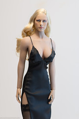 ZY Toys ZY5025 Evening Gown Set (edwicks_toybox) Tags: 16scale tbleague blonde eveninggown femaleactionfigure highheels phicen seamlessbody stockings zytoys