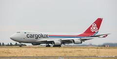 Boeing 747-400F Cargolux (Moments de Capture) Tags: boeing 747400f cargolux b747 747 aircraft plane avion aeroport airport spotting lfpg cdg roissy charlesdegaulle onclejohn canon 5d mark3 5d3 mk3 momentsdecapture